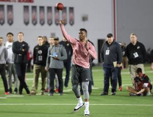 Dwayne Haskins 2019 Ohio State football Pro Day