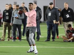 Dwayne Haskins Ohio State football 2019 Pro Day