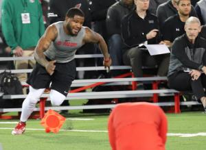 Mike Weber Ohio State Football 2019 Pro Day