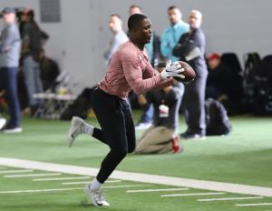 Ohio State football Pro Day Terry McLaurin
