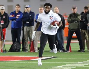 Parris Campbell Ohio State football 2019 Pro Day