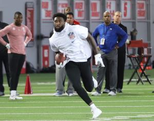 Parris Campbell Ohio State football Pro Day