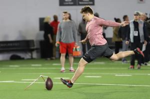 Sean Nuernberger Ohio State football Pro Day 2019