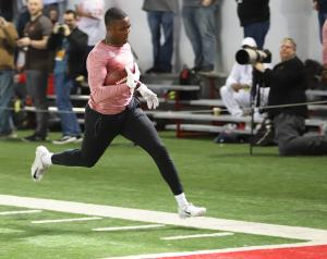 Terry McLaurin 2019 Ohio State football Pro Day