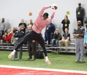 Terry McLaurin 2019 Ohio State football Pro Day reception