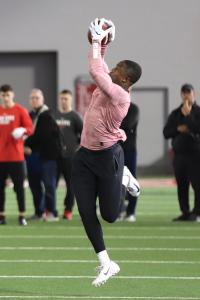 Terry McLaurin Ohio State Football Pro Day 2019