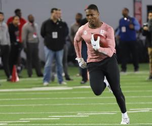 Terry McLaurin Ohio State football Pro Day'