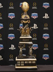Fiestra Bowl trophy