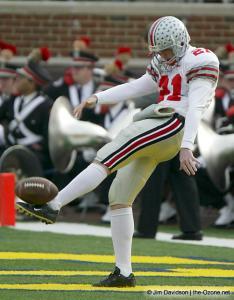 002 BJ Sander Ohio State Michigan 2003 The Game football