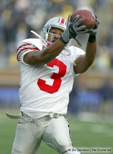 004 Bam Childress Ohio State Michigan 2003 The Game football