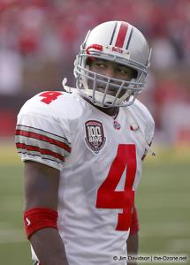 007 Santonio Holmes Ohio State Michigan 2003 The Game football