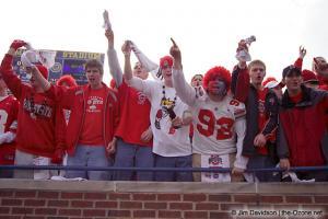 008 OSU fans Ohio State Michigan 2003 The Game football