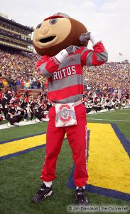 009 Brutus Ohio State Michigan 2003 The Game football