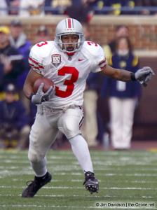 017 Bam Childress Ohio State Michigan 2003 The Game football