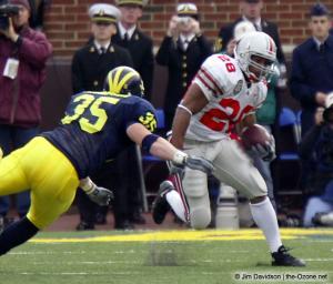 028 Maurice Hall Ohio State Michigan 2003 The Game football