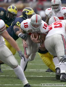 030 Craig Krenzel Ohio State Michigan 2003 The Game football