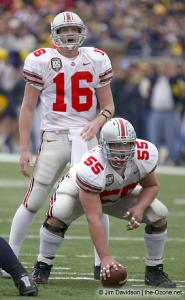031 Nick Mangold Craig Krenzel Ohio State Michigan 2003 The Game football