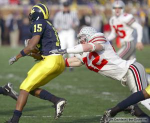037 Bobby Carpenter Ohio State Michigan 2003 The Game football
