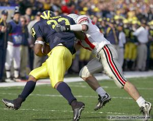 039 Dustin Fox Ohio State Michigan 2003 The Game football