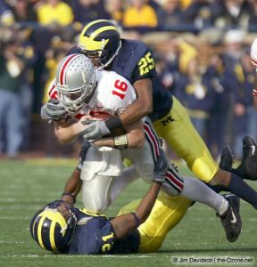 042 Craig Krenzel Ohio State Michigan 2003 The Game football