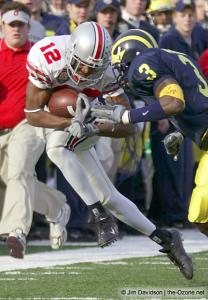 043 Michael Jenkins Ohio State Michigan 2003 The Game football