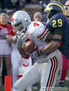 046 Santonio Holmes Ohio State Michigan 2003 The Game football
