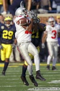 049 Michael Jenkins Ohio State Michigan 2003 The Game football