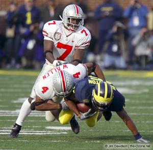 050 Chris Gamble Will Allen Ohio State Michigan 2003 The Game football