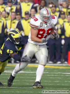 052 Ben Hartsock Ohio State Michigan 2003 The Game football