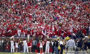057 OSU Fans Ohio State Michigan 2003 The Game football