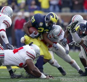 060 Fred Pagac Marcus Green Ohio State Michigan 2003 The Game football