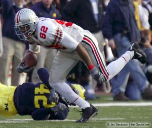 061 Roy Hall Ohio State Michigan 2003 The Game football