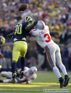 063 Bam Childress Ohio State Michigan 2003 The Game football