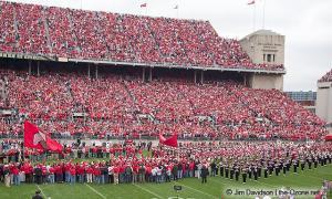 007 Pregame Ohio State Michigan 2004 The Game football