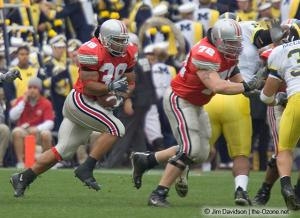 009 Branden Joe TJ Downing Ohio State Michigan 2004 The Game football