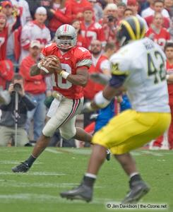 010 Troy Smith Ohio State Michigan 2004 The Game football