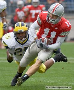 012 Anthony Gonzalez Ohio State Michigan 2004 The Game football