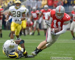 013 Anthony Gonzalez Ohio State Michigan 2004 The Game football