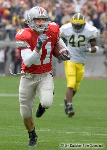 014 Anthony Gonzalez Ohio State Michigan 2004 The Game football
