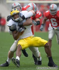 017 Bobby Carpenter Ohio State Michigan 2004 The Game football