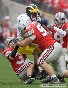 019 Quinn PItcock Dustin Fox Ohio State Michigan 2004 The Game football