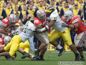 021 Brandon Joe Rob Sims Ohio State Michigan 2004 The Game football