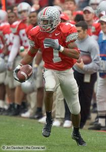 034 Ted Ginn Ohio State Michigan 2004 The Game football