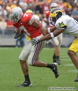 035 Ted Ginn Ohio State Michigan 2004 The Game football