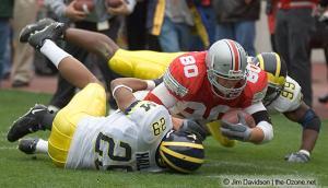 037 Ryan Hamby Ohio State Michigan 2004 The Game football