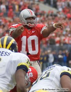 038 Troy Smith Ohio State Michigan 2004 The Game football