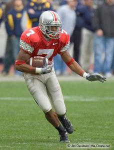 041 Ted Ginn Ohio State Michigan 2004 The Game football