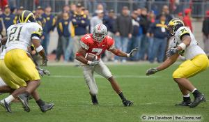 042 Ted Ginn Ohio State Michigan 2004 The Game football