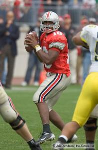 043 Troy Smith Ohio State Michigan 2004 The Game football