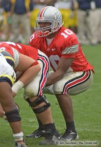 045 Troy Smith Ohio State Michigan 2004 The Game football